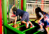 What are the benefits of playgrounds to Children?